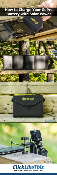 How to Charge Your GoPro Battery with Solar Power [SunJack Review]