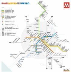 Italy Subway Map - http://travelquaz.com/italy-subway-map-2.html