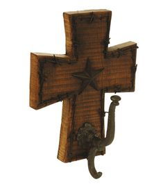 Cross Coat Rack $59.95