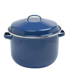 This Blue 18-Qt. Canning Pot is perfect! #zulilyfinds