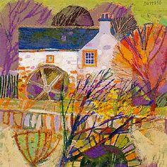 Autumn Garden by George Birrell - art print from King & McGaw