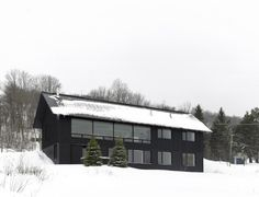 Contemporary Chalet House Plans – Canadian Winter Wonderland