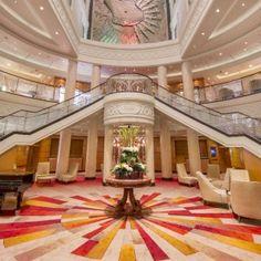 Grand Atrium of the Queen Mary II