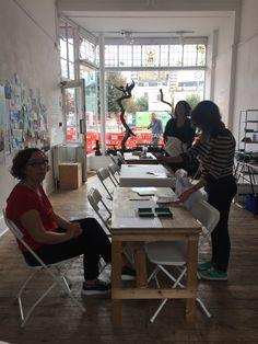 Pop Up, Workshop, Museum, Desk, Furniture, Home Decor, Atelier, Desktop, Decoration Home