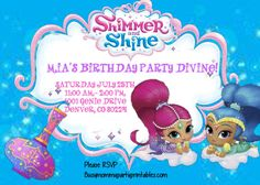Hey, I found this really awesome Etsy listing at https://www.etsy.com/listing/503246157/shimmer-and-shine-genie-party-package