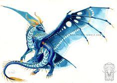 Azure Empress by ShadeofShinon.deviantart.com on @DeviantArt