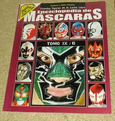 Enciclopedia De Mascaras Tomo  IX Lucha Libre Wrestling Mask Encyclopedia