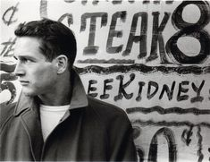 Paul Newman in New York, 1950s