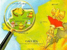 Im Jahre 50 v. Chr. ist ganz Gallien ist von den Römern besetzt.