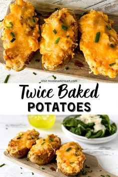 Supper Recipes, Side Dish Recipes, Wedges Potato, Best Potato Recipes, Favorite Recipes, Easy Twice Baked Potatoes, Grilled Vegetable Recipes, Easy Meal Plans, Best Side Dishes