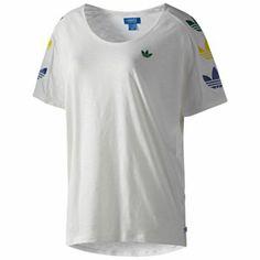 ADIDAS ORIGINALS LIFESTYLE Women s Fun Trefoil T-Shirt 7db77453b6