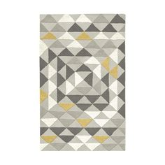 Framed Triangles Special Order Wool Rug (4-Week Delivery)