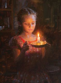 "Morgan Weistling Christian Paintings | Glow"" by Morgan Weistling"