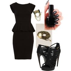Black and Gold YOU HAVE TO WEAR THIS