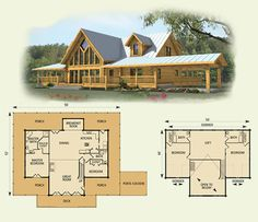 images about Awesome Log Home Floorplans on Pinterest   Log       images about Awesome Log Home Floorplans on Pinterest   Log Home Plans  Plan Plan and Log Cabin Floor Plans