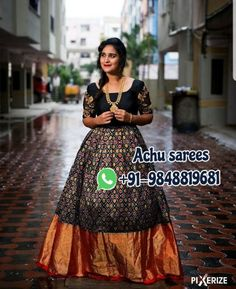 Ikkat Saree, Silk Sarees, Langa Voni, Fancy Sarees, Anarkali, Frocks, Blouse Designs, Kurti, Sequin Skirt