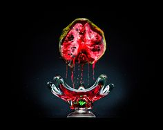 Artist Klaus Pichler turned rotting food into elaborate still life pictures, to highlight the dimensions of the global food waste problem. Dramatic Photography, Popular Photography, Still Life Photography, Food Photography, Photography Magazine, Photography Series, Photography Portraits, Rotten Food, Rotten Fruit