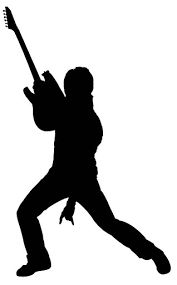 Image result for guitarist silhouette