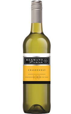Renmano Premium Chardonnay NV South Australia - 12 Bottles Pineapple Fruit, Ripe Peach, South Australia, White Wine, Wines, Bottles, White Wines