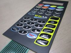 The membrane keypad design makes it easy to use and no prior knowledge is required by the user in order to operate these keypads.