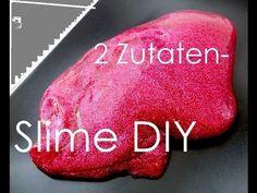 essbaren Erdbeer Schleim selber machen | Glibber ohne Chemie | Slime Zuhause herstellen | Rezept - YouTube