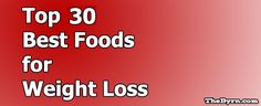 Here's 30 foods I recommend you eating while you are trying to lose weight. They are nutrient dense, healthy, and give you energy to lose weight.