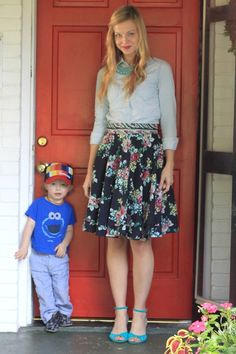 Love this skirt from Minx Boutique #MinxLovesDearBaby