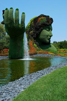 Mosaicultures, Montreal, 2013. Mucho más sobre creatividad y expresión humana en…