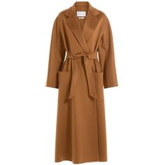 MAX MARA Cashmere Jacket ❤ liked on Polyvore featuring outerwear, jackets, cashmere jacket and brown jacket