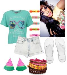 """""""Lets get Crunk"""" by niyabear ❤ liked on Polyvore"""