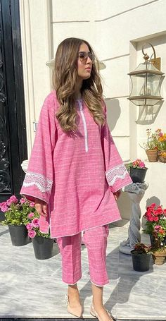 Pakistani Dresses Casual, Pakistani Dress Design, Bell Sleeves, Bell Sleeve Top, Kurta Style, Embroidery Fashion, Kurta Designs, Indian Designer Wear, Asian Fashion