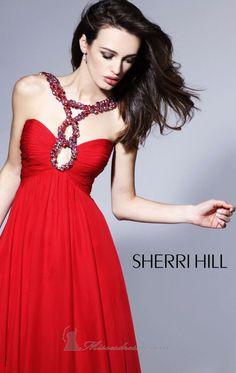 Sherri Hill 1455 red