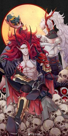 Rudy and Russ Fantasy Character Design, Character Design Inspiration, Character Art, Fantasy Characters, Anime Characters, Manga Art, Anime Art, Onmyoji Game, Chica Anime Manga