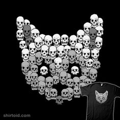 Skull Kitty    squeeeeee!