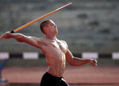 Trey Hardee, throwing javelin... Do I need anything else?