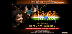 Amazing Republic Day offer Only at MeriYaadein Photo Studios
