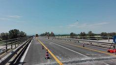 Riapre a senso unico alternato il Ponte Verdi sul Po