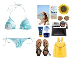 """""""sun, sea, salt"""" by bae01 ❤ liked on Polyvore featuring J.Crew, Nivea, Billabong, Neiman Marcus, Casetify, Bobbi Brown Cosmetics and SummerStyles"""