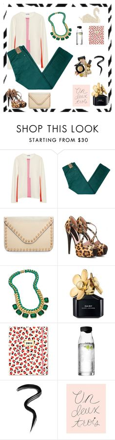"""""""Untitled #105"""" by lelee09 ❤ liked on Polyvore featuring Jil Sander, 10.Deep, Urban Expressions, Gucci, Sara Designs, Kate Spade, Menu, Laura Mercier and Rifle Paper Co"""