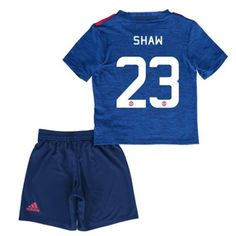 Manchester United Trøje Børn 16-17 Luke #Shaw 23 Udebanesæt Kort ærmer.199,62KR.shirtshopservice@gmail.com