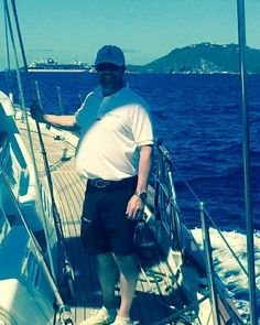 Our Sales Director, Simon Aston is over in #StBarths currently #sailing in the #StBarthsBucketRegatta onboard #B2... with their start studded race #crew, including #superyacht designer Rob Doyle. #superyachtfinishingservice www.absolutboatcare.net