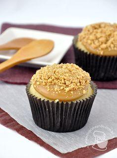 Cupcakeando » Arquivos » Cupcakes de paçoca