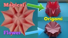 ORIGAMI: How To Make An Origami Magical Flower! - Lawrence de Galan Origami