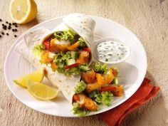 Chicken Wrap mit frischem Joghurt #hühnchen #chicken #wrap #rezepte #recipes #joghurt