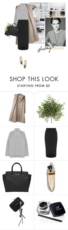"""""""It's Friday..."""" by erino9519 ❤ liked on Polyvore featuring Lauren Conrad, Viktor & Rolf, Rochas, Boohoo, MICHAEL Michael Kors, Jimmy Choo, Guide London, women's clothing, women and female"""