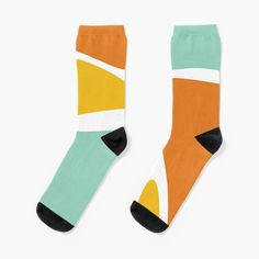 'Tropical Fresh abstract' Socks by