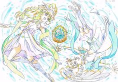 Futari Wa Pretty Cure, Illustrations And Posters, Star Art, Drawings, Pretty Drawings, Cute Art, Anime Sketch, Anime Style, Magical Girl