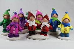 christmas polymer clay - Google Search