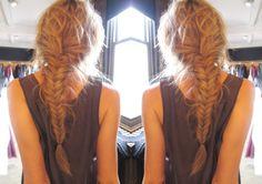 Herringbone Braid The one thing I miss about long hair