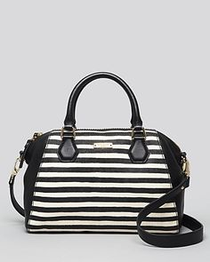 kate spade new york Satchel - Catherine Street Stripe Pippa | Bloomingdale's
